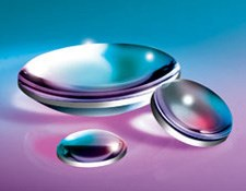 15mm Dia. x 25mm FL VIS-NIR Coated, UV Plano-Convex Lens