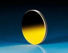 25mm Dia x -7.75mm FL Protected Gold Coated, Convex Mirror
