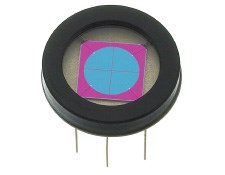 0.25mm<sup>2</sup> Four-Element Segmented Photodiode