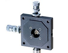 2-Axis Fiber Alignment Mount w/ Standard Kinematic Movement