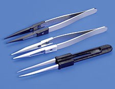 Ceramic 0.5mm Tip Width, Non-Marring Tweezers