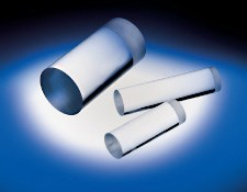 2.0mm Diameter x 4.0mm Length, UV Fused Silica Rod Lens